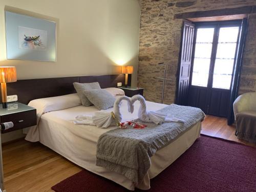 Habitación Doble Estándar con ducha - Uso individual Posada Real La Carteria 14