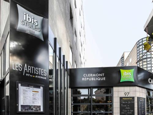 Ibis Styles Clermont-Ferrand République - Hotel - Clermont-Ferrand