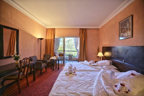 Hôtel Marrakech Le Semiramis Oda fotoğrafları