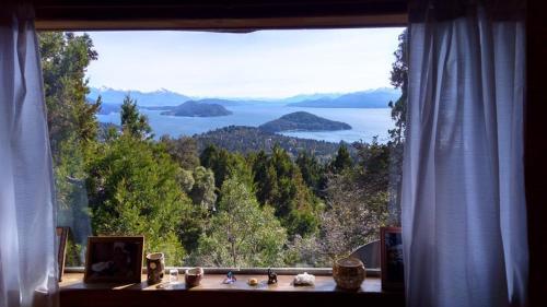Cabaña con increíble vista al Nahuel Huapi - Chalet - San Carlos de Bariloche