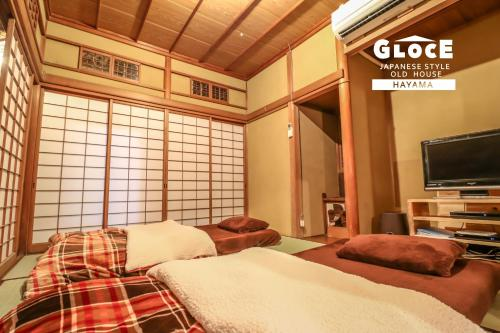 . GLOCE 葉山の古民家 Japanese style old house in Hayama 囲炉裏で BBQ