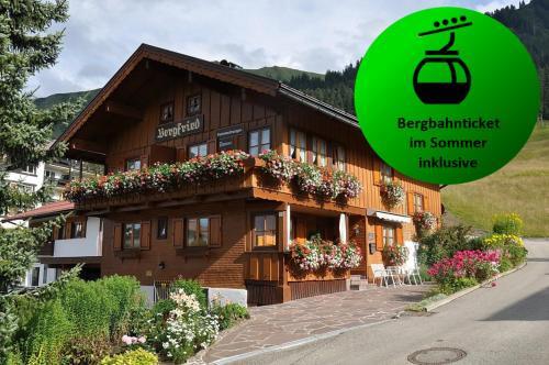 Das Bergfried - Urlaub zentral und ruhig! - Apartment - Kleinwalsertal
