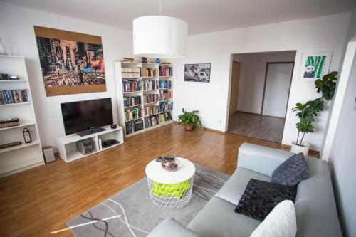 Hotel-overnachting met je hond in Private Appartment with 2 separate BD for group or singles - Bratislava - Karlova Ves