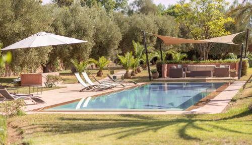 Villa Ouarda-Ourika by BnB-Keys, 10 min. du centre, 900m2
