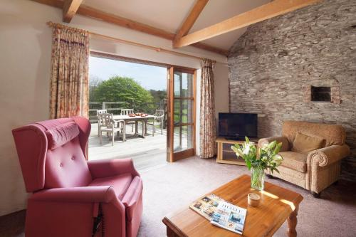 Treworgans Farm Holidays, Grampound, Cornwall