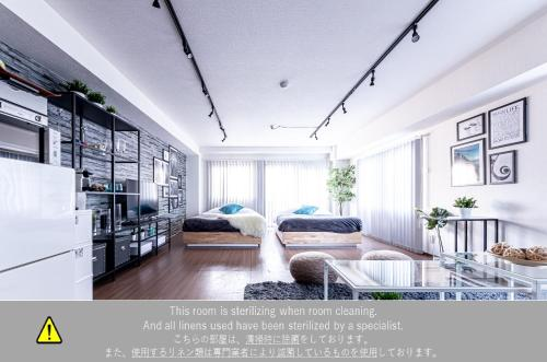 B6. Stylish & Modern Studio # SHINJUKU 7 min