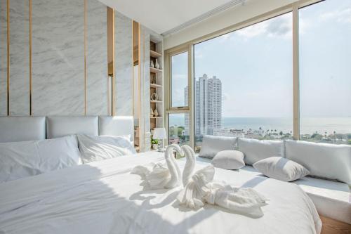 Riviera Jomtien 1 Bed 1 living room Seaview Riviera Jomtien 1 Bed 1 living room Seaview