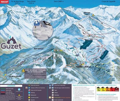 Appt au Ski au pied des pistes en Résidence avec Piscine et Sauna - Hotel - Ustou