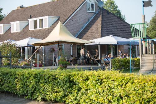 Recreatiecentrum de Kluft, Ferienpark in Ossenzijl bei Blokzijl