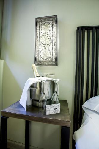 Double  Interior Room - single occupancy Hotel Boutique Casas de Santa Cruz 28