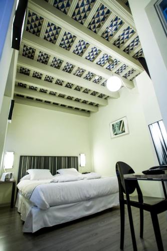 Double  Interior Room - single occupancy Hotel Boutique Casas de Santa Cruz 29