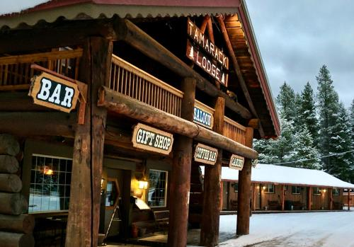 Historic Tamarack Lodge and Cabins - Accommodation - Hungry Horse