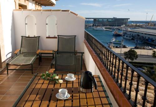 Suite Junior Deluxe con terraza La Posada del Mar 5