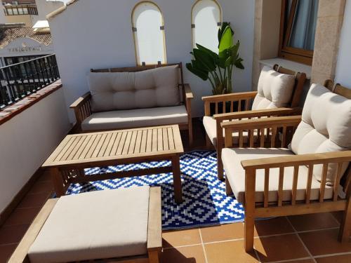 Suite con terraza La Posada del Mar 6
