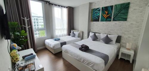 Center Khao Yai / Pool+Mt.View / Cool all day / 2 Tvs (3-7pax) Center Khao Yai / Pool+Mt.View / Cool all day / 2 Tvs (3-7pax)