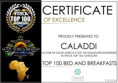 . Caladdi Bed and Breakfast