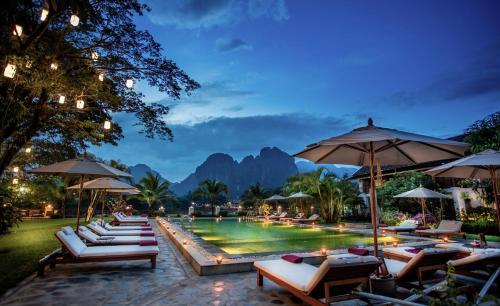 . Riverside Boutique Resort, Vang Vieng
