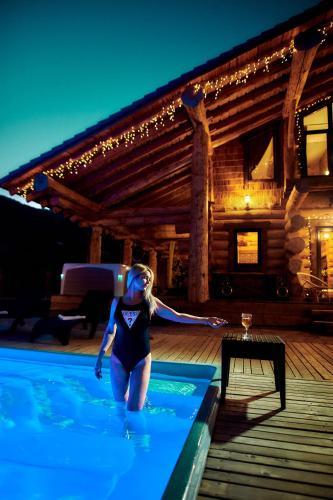 Шале с баней и бассейном Кедр 750 - Chalet - Krasnaya Polyana