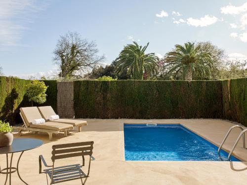 Suite con piscina privada Mas de Torrent Hotel & Spa 2