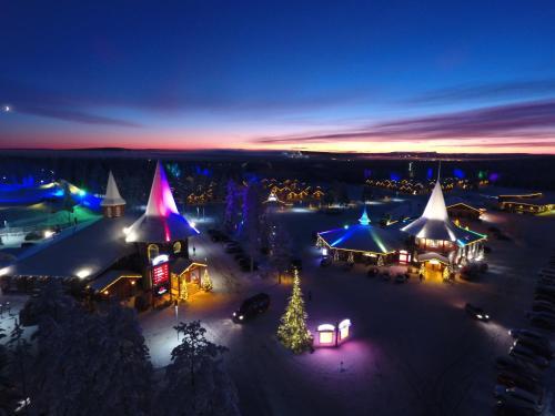 . Santa Claus Holiday Village