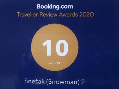 Snežak (Snowman) 2 - Apartment - Bohinj