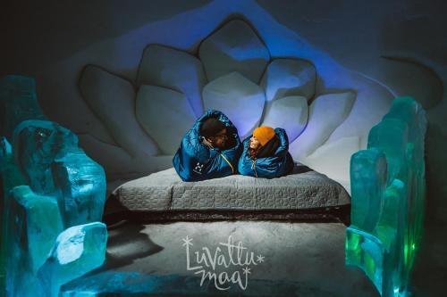 . Levi Ice Hotel - Luvattumaa
