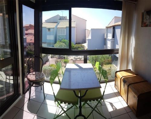 BM 463 - Appartement T2 Cabine 4 couchages NARBONNE-PLAGE - Location saisonnière - Narbonne