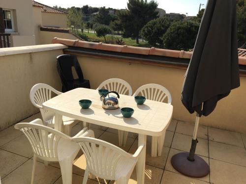 GB1-1104 : Appartement T3 5 couchages NARBONNE PLAGE - Location saisonnière - Narbonne