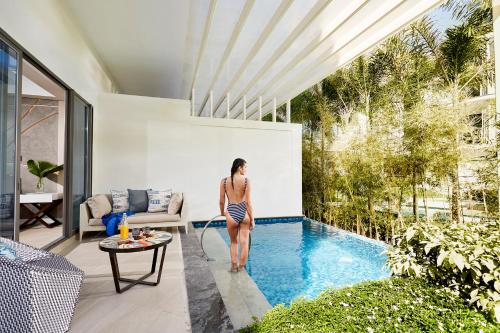 Double Room with Garden View and Private Pool