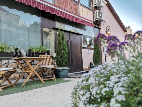 Doppelzimmer mit Aussicht Rusticae Hotel Cardamomo Siguenza 9