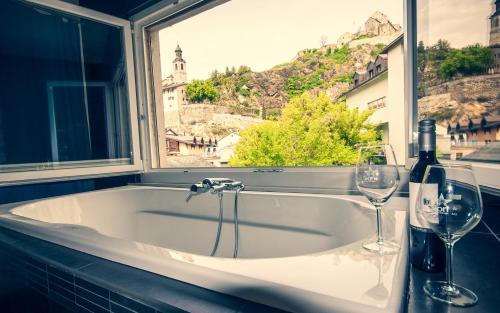 Chambre d'hôte Valère - Hotel - Sion