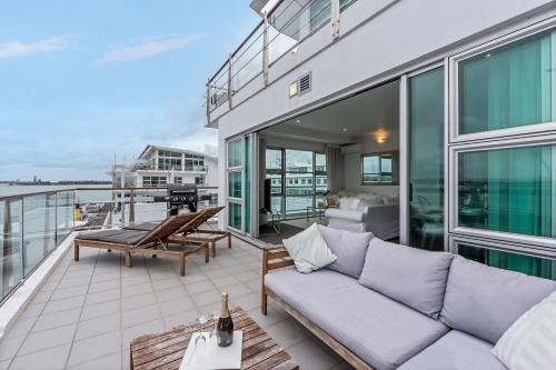 Princes Wharf 2BR Sub-Penthouse - Apartment - Auckland