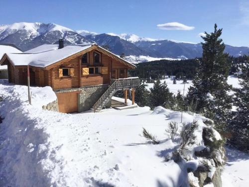 CHALET SCANDINAVE ALASKAN classé 4 ETOILES - Chalet - Bolquère Pyrénées 2000
