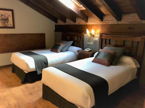 Doppel-/Zweibettzimmer mit Zugang zum Spa Hotel Spa San Marcos 3