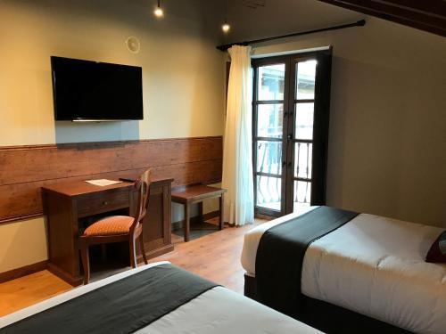 Doppel-/Zweibettzimmer mit Zugang zum Spa Hotel Spa San Marcos 8