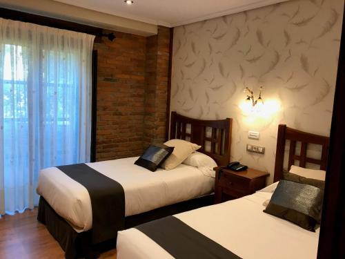 Standard Doppel- oder Zweibettzimmer mit Balkon Hotel Spa San Marcos 3