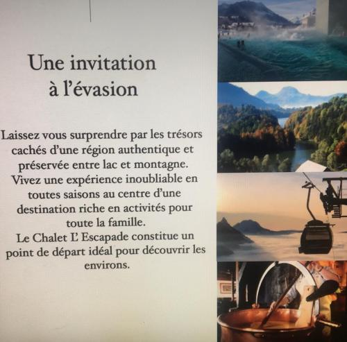 Chalet L'Escapade - Hotel - Charmey