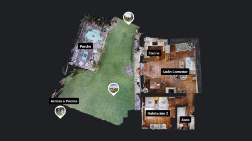 Casa de 2 dormitorios El Vergel de Chilla tiene 3 alojamientos Abejas 1 Abejas 2 y Libélula 48