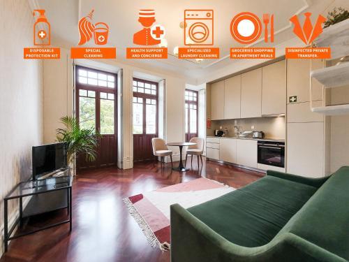 . Trindade Premium Apartments Porto Centre