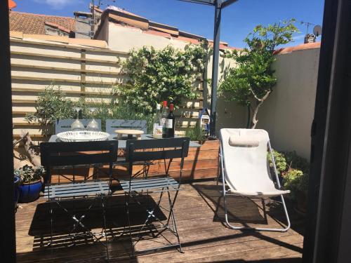 Maison avec terrasse à Arles, Provence - Location saisonnière - Arles