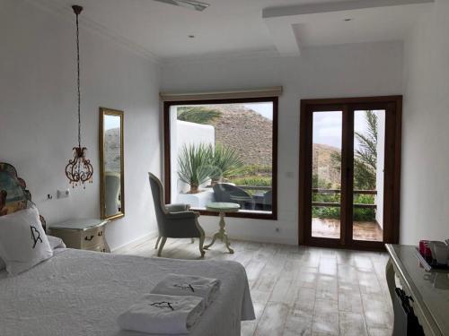 Doppelzimmer mit Terrasse La Almendra y El Gitano 1