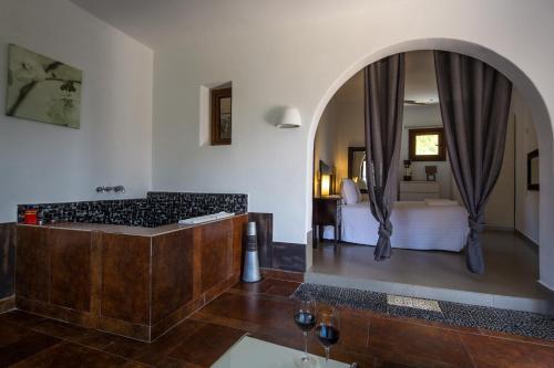 Suite mit Whirlpool-Badewanne ohne Terrasse La Almendra y El Gitano 5