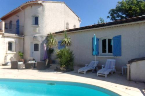 . Apartment with one bedroom in Le Luc with shared pool enclosed garden and WiFi