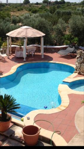 . Apartment with one bedroom in Crispiano with shared pool enclosed garden and WiFi 10 km from the beach