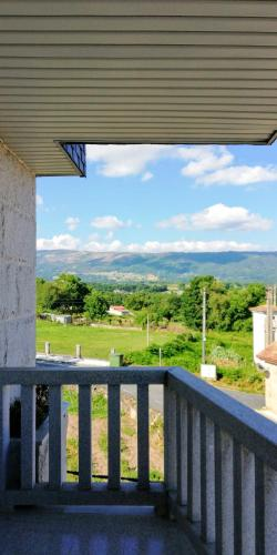 . Apartment with 2 bedrooms in Maceda with wonderful mountain view enclosed garden and WiFi