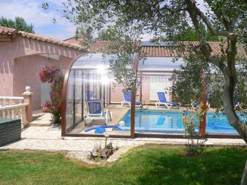 . Apartment with 2 bedrooms in Beziers with shared pool enclosed garden and WiFi 20 km from the beach