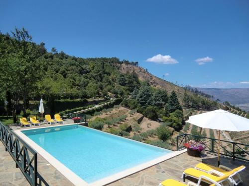 . House with 2 bedrooms in Torre de Moncorvo with wonderful mountain view shared pool and enclosed garden