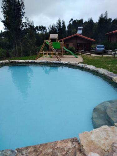 . Studio in Figueiro dos Vinhos with wonderful mountain view shared pool enclosed garden 6 km from the beach