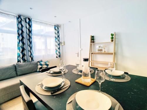 Vannes Jolie appartement T3 42m carré - Location saisonnière - Vannes