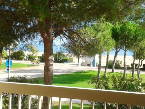. Studio in ArgelessurMer with wonderful sea view terrace and WiFi